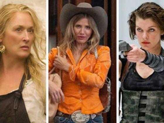 Maryl Streep, Cameron Diaz e Milla Jovovich: Será que elas vem? (Créditos: TodayOnLine)