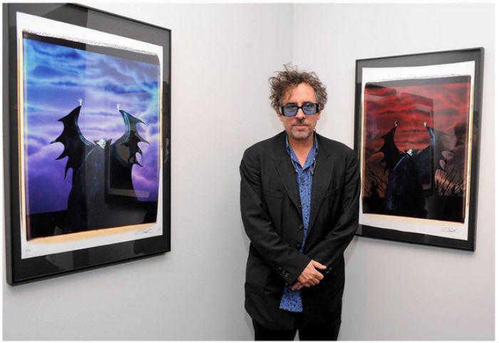 O diretor Tim Burton. Créditos: Catraca Livre