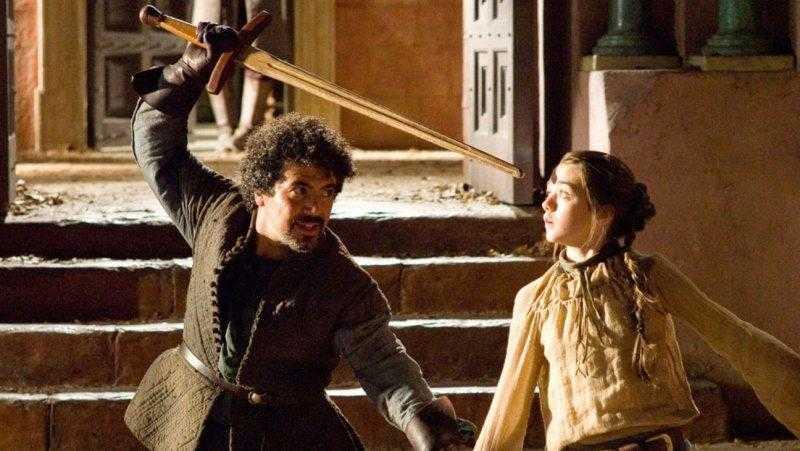 Miltos Yerolemou como Forel em cena de 'Game of Thrones'