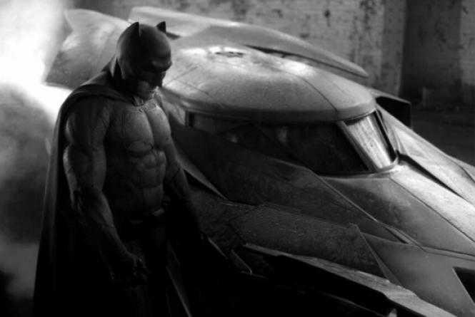 Primeira imagem divulgada do Ben Affleck como Batman.
