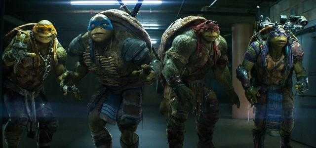 "Cena de ""Tartarugas Ninja"".  Créditos: CommingSoon"