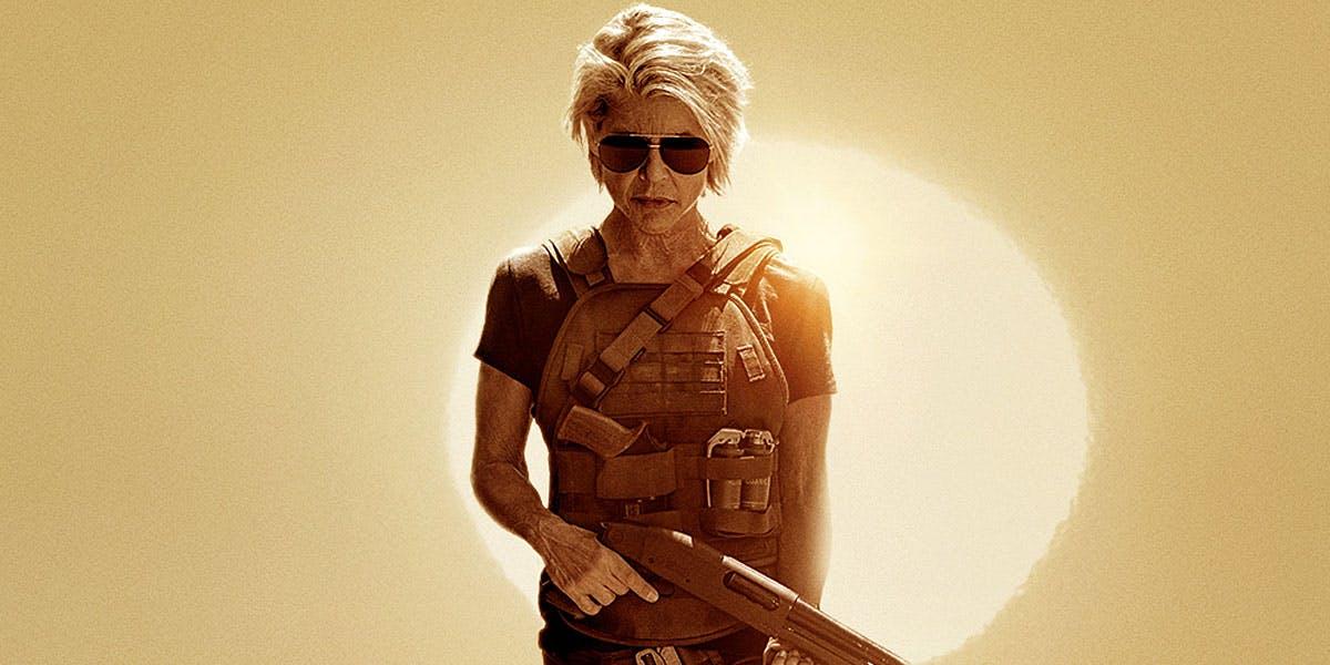 """Sarah Connor, a legítima, está de volta em 'Exterminador do Futuro: Destino Sombrio"""""""